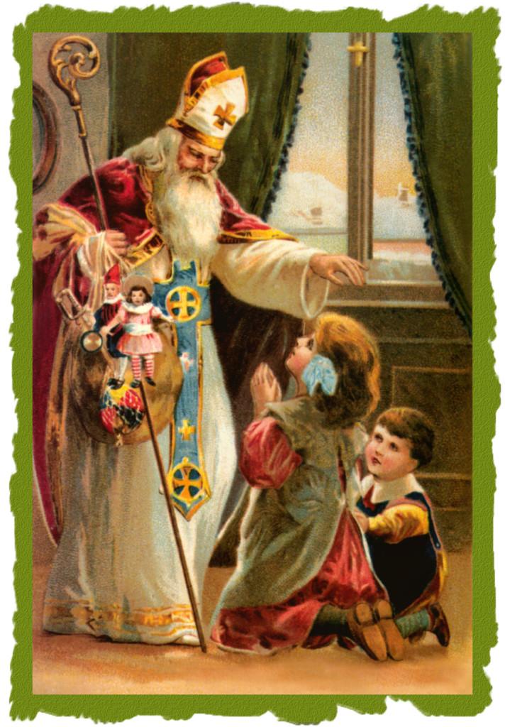 Saint Nichola - Babbo Natale