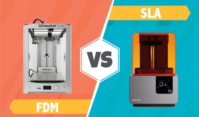 Tecnologie a confronto - FDM e SLA