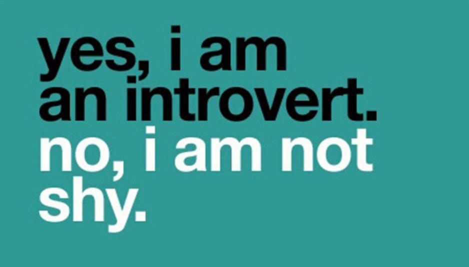 introverso non è timido
