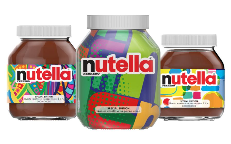packaging Nutella vasetti sostenibili design