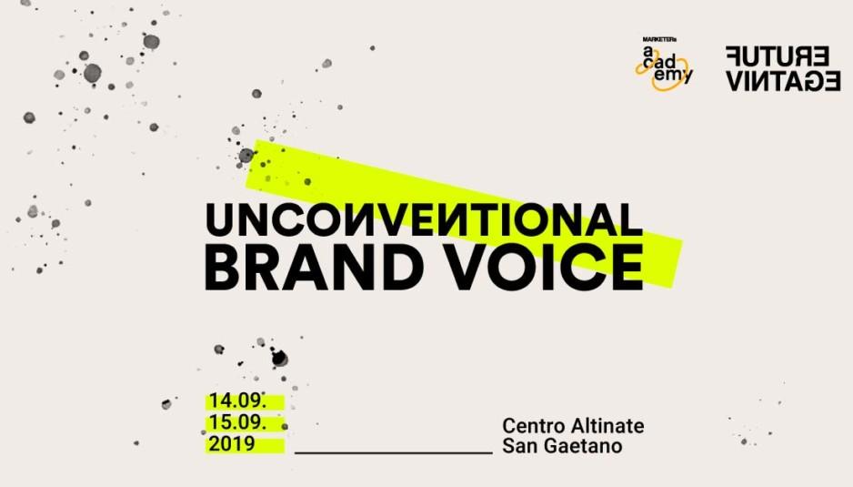 Future Vintage Festival - MARKETERs Unconventional Brand Voice
