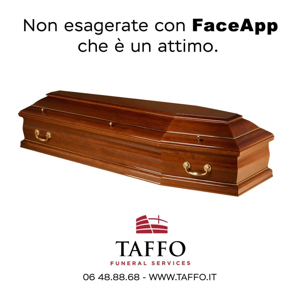 Taffo Funeral Services - FaceApp