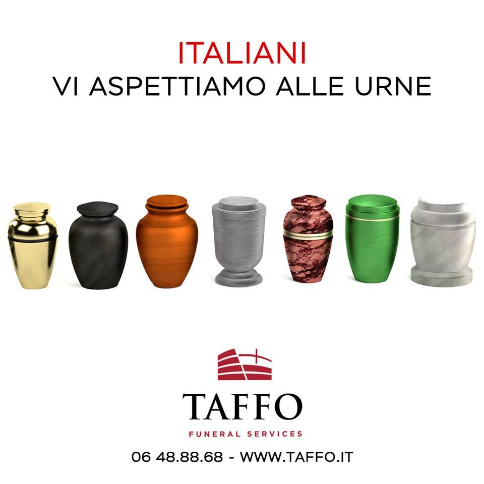 Taffo Funeral Services - Italiani alle urne