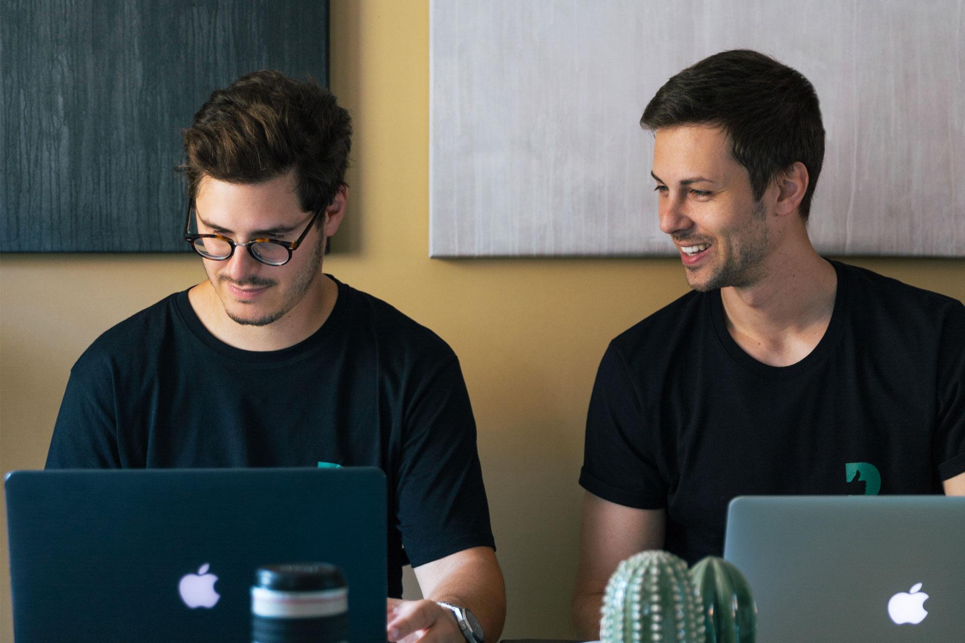 Joel Henry e Marco Valentinsig