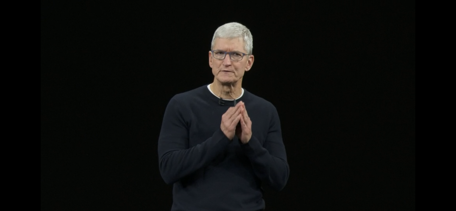 Tim Cook Apple event 2019