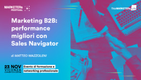 Marketing B2B performance migliori con Sales Navigator