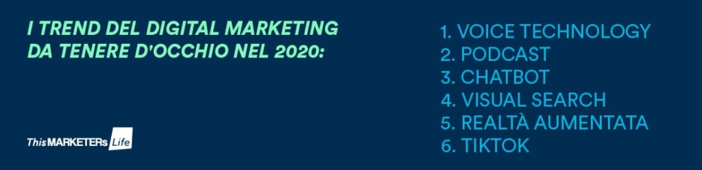 trend digital marketing 2020
