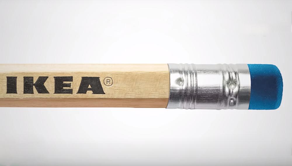 Matita IKEA anniversario 75 anni