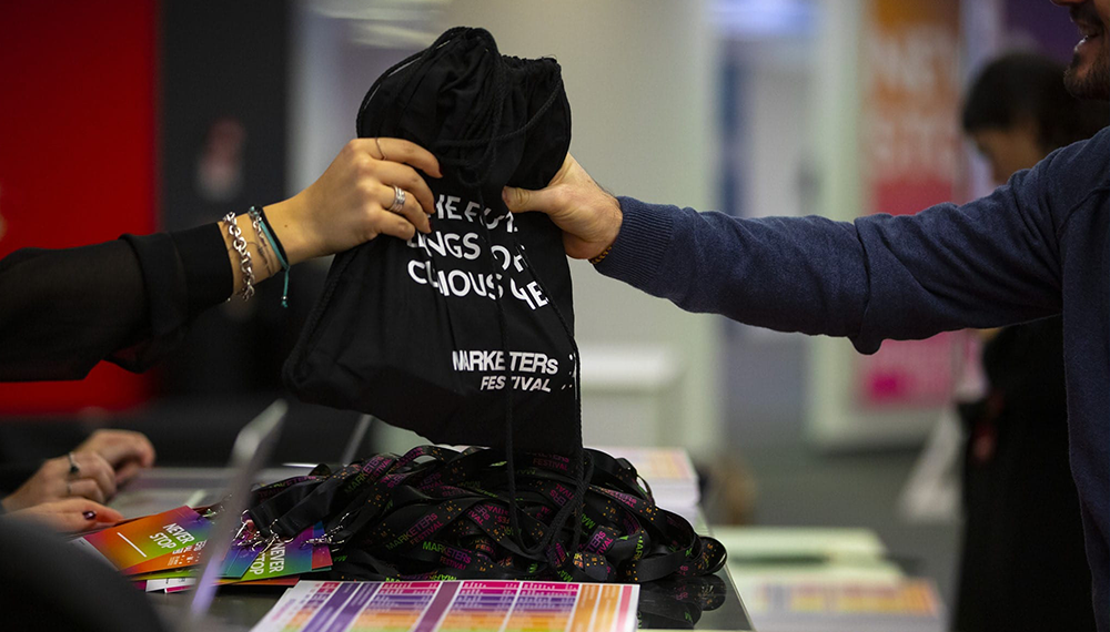 Welcome kit MARKETERs Festival 2019