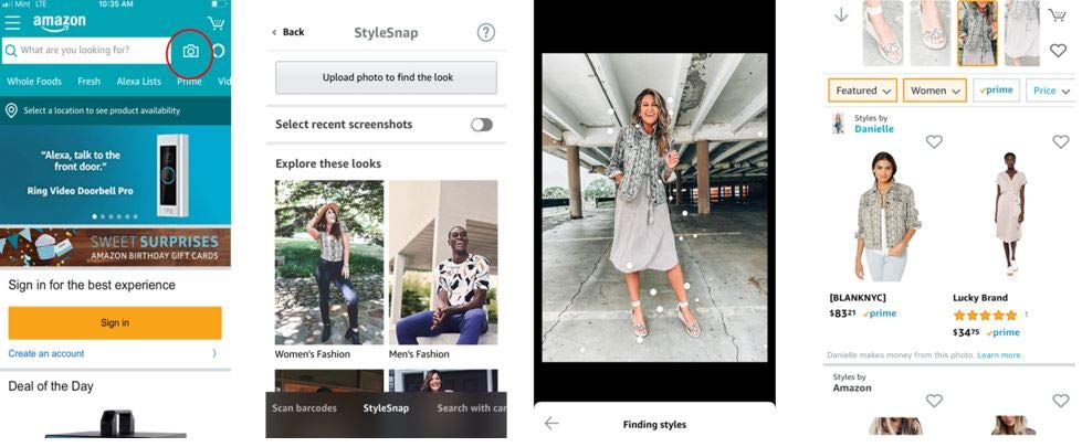 amazon stylesnap come funziona