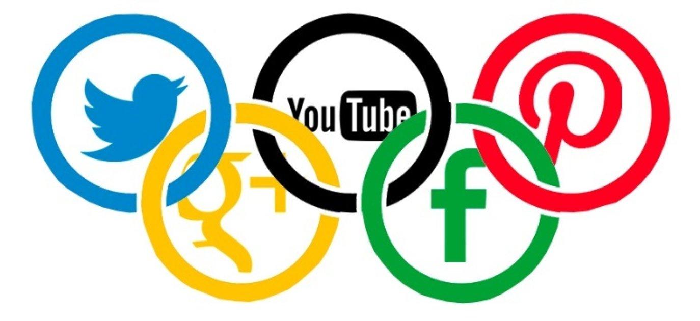 social media olimpiadi