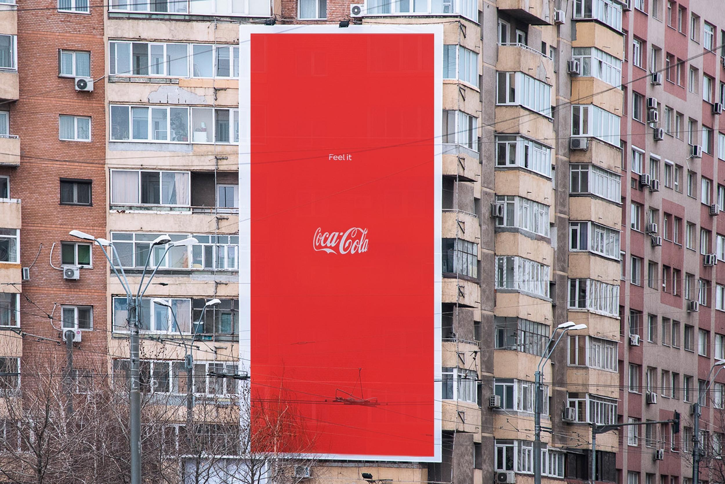 coca cola affissione
