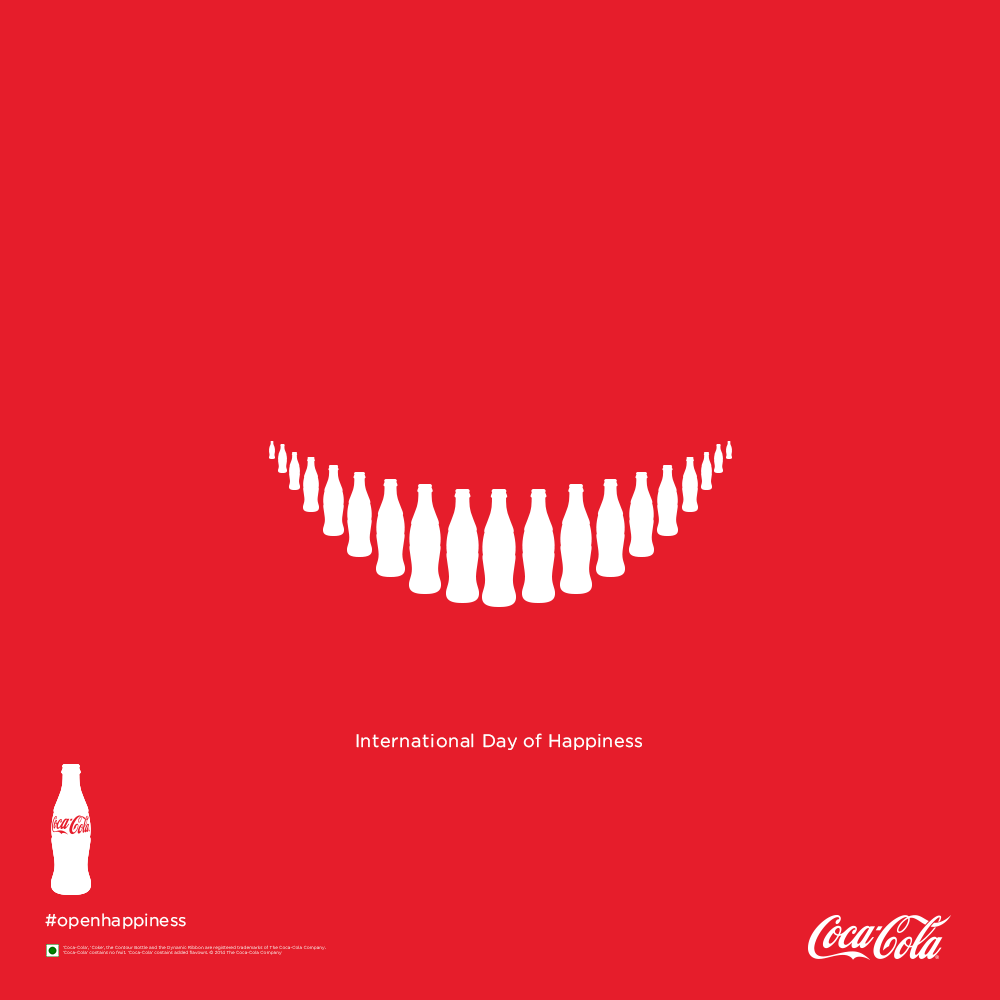 happiness day coca cola
