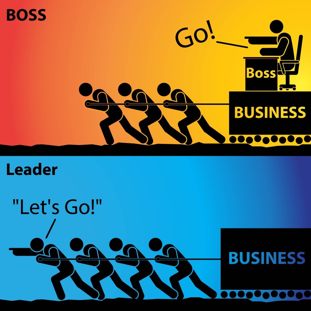 differenza tra boss e leader