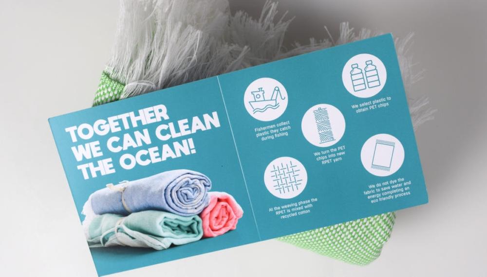 Asciugamano sostenibile