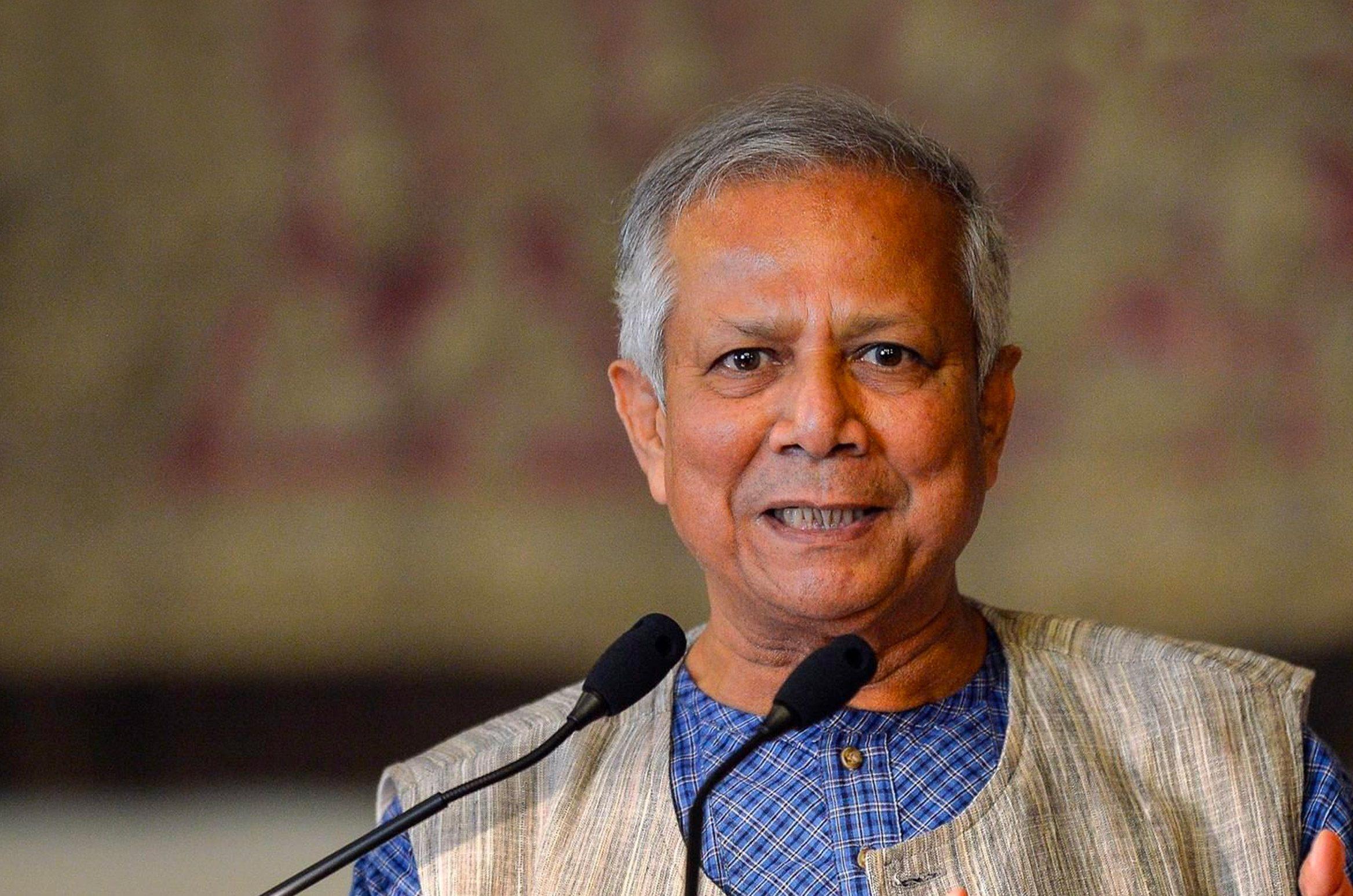 Il premio Nobel Yunus