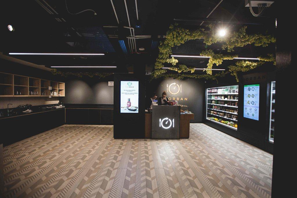 Gli smart locker di Foorban sono delle office canteen, ovvero mense 4.0