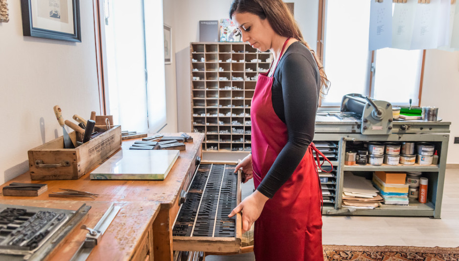 Martina Vincenti, La Tipografa Toscana