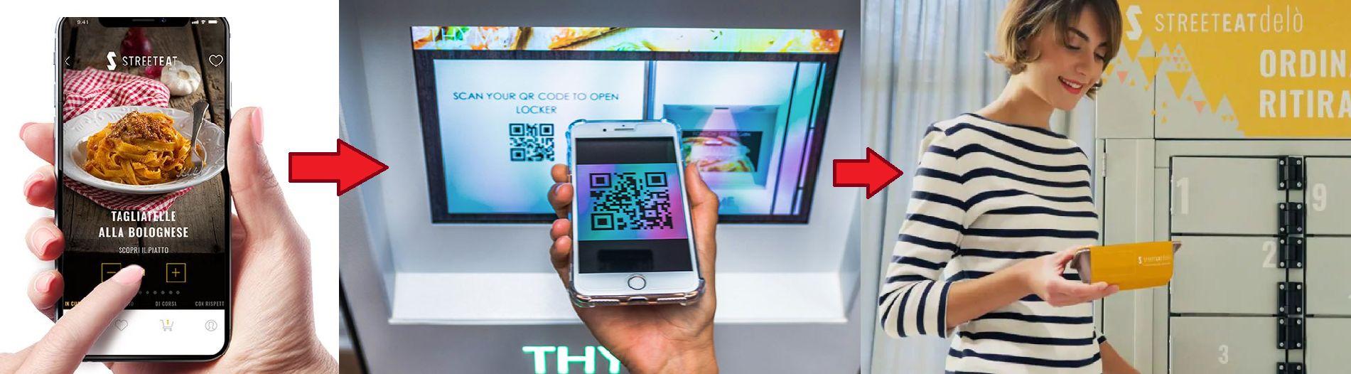 Scarica l'app, ordina e ritira: ecco come funziona uno smart locker