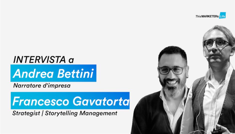 Francesco Gavatorta e Andrea Bettini, Copertina, #NewPersonalStorytelling