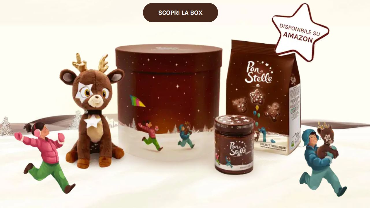 La box di Natale di Pan di Stelle in edizione limitata è disponibile su Amazon
