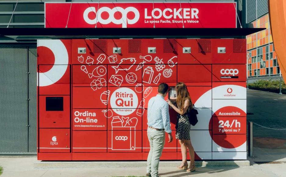Gli smart locker e la nuova pausa pranzo digitale