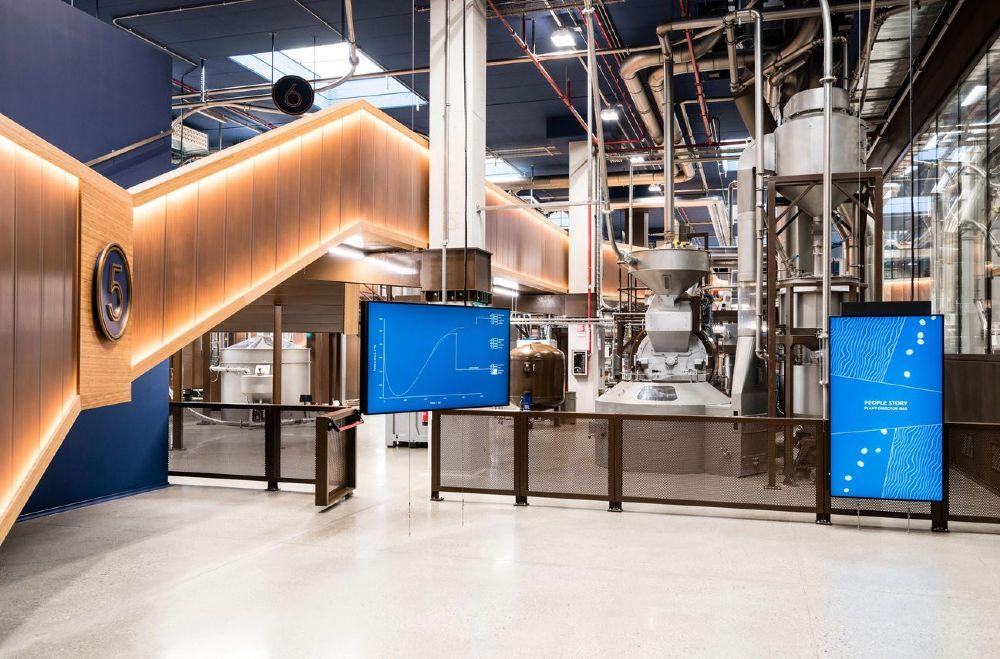 I macchinari innovativi della factory 1895 Coffee Designers by Lavazza