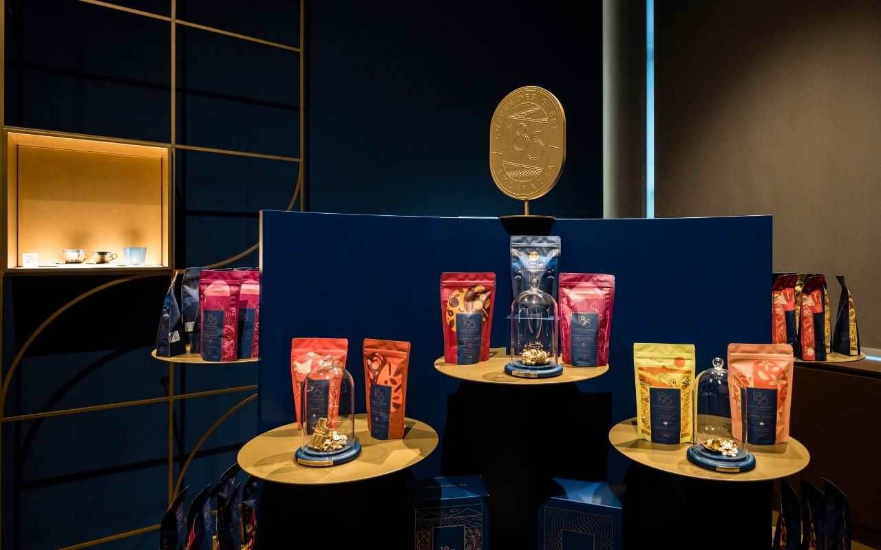 Lo store della factory 1895 Coffee Designers by Lavazza