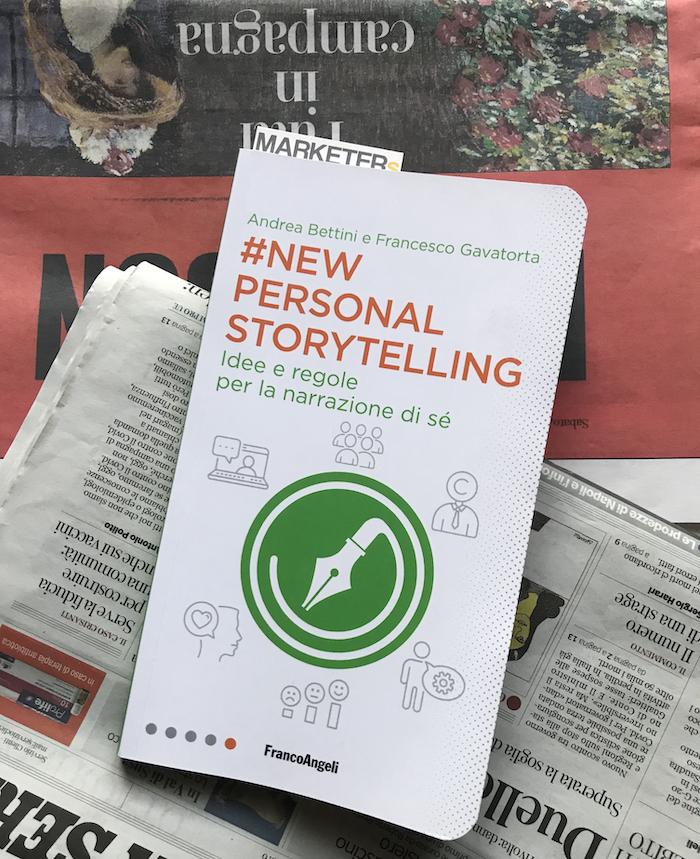 #NewPersonalStorytelling, libro, di Gavatorta e Bettini