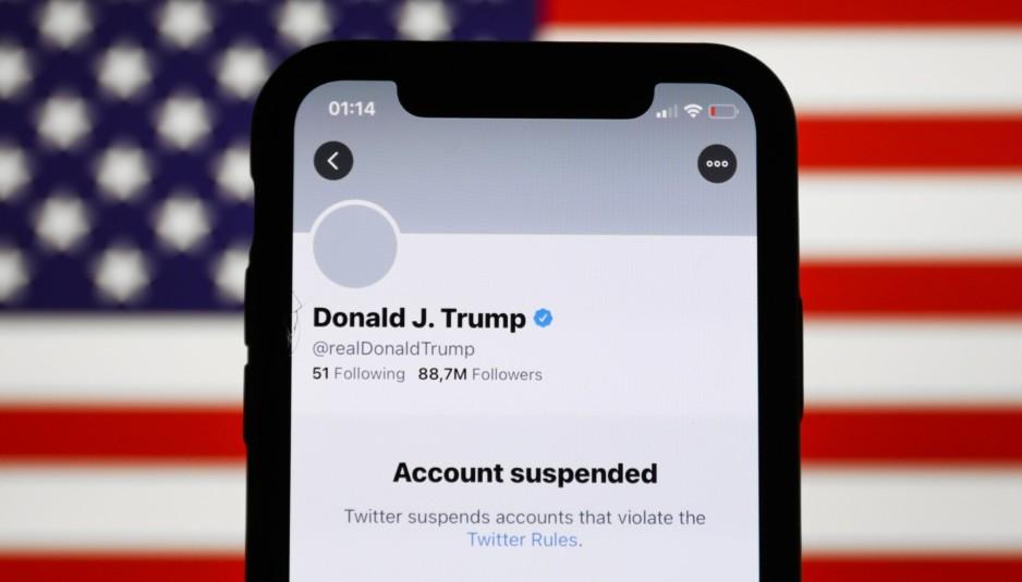 Trump Suspended