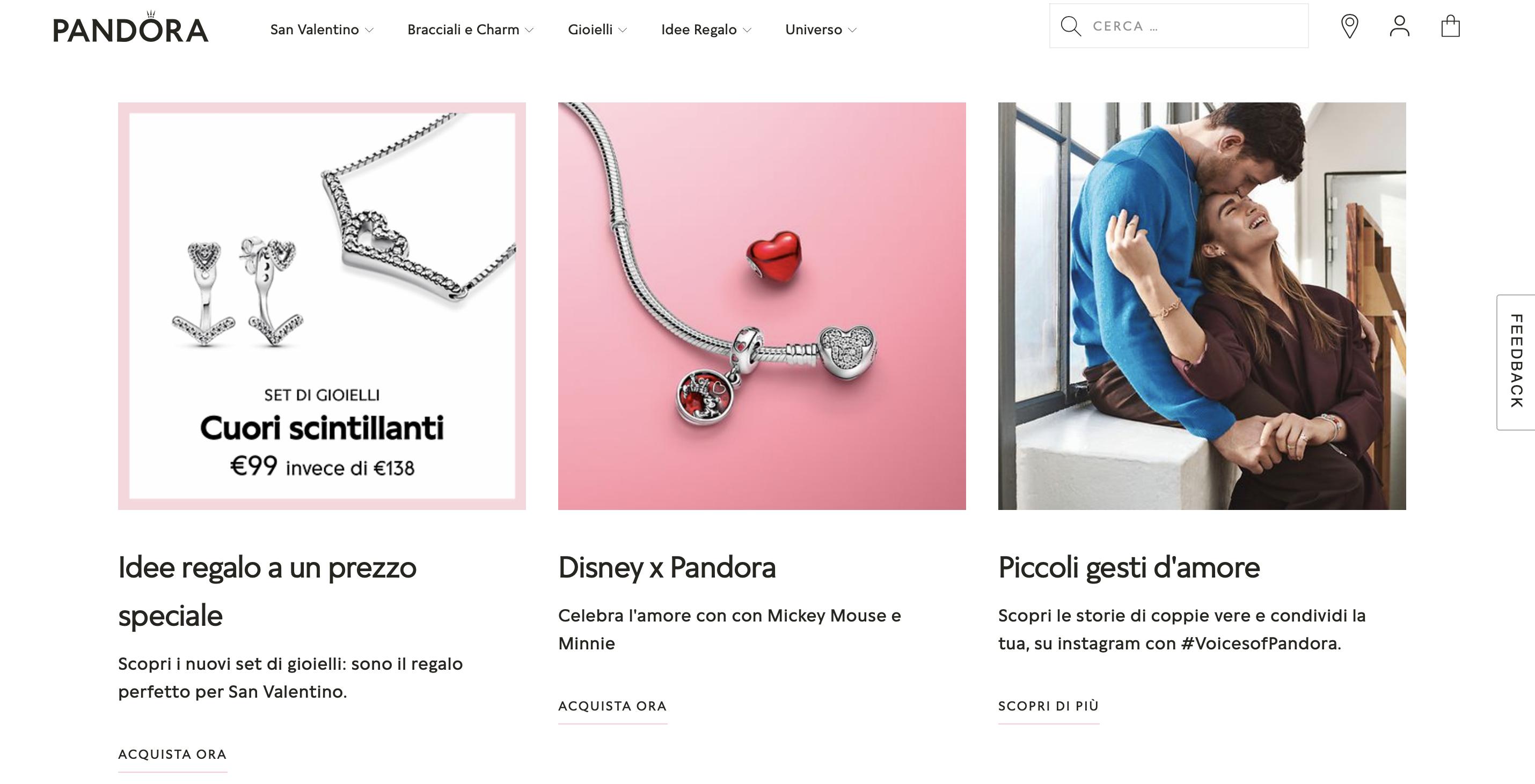 pandora-company-website