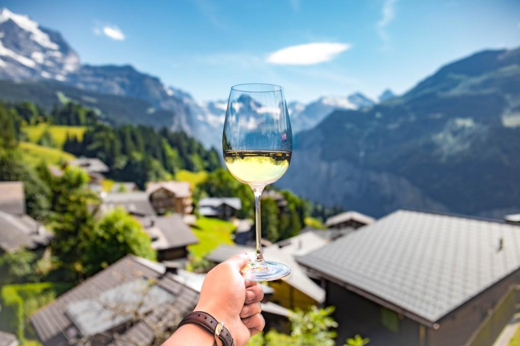 marketingturistico_Bicchiere di vino tra le montagne