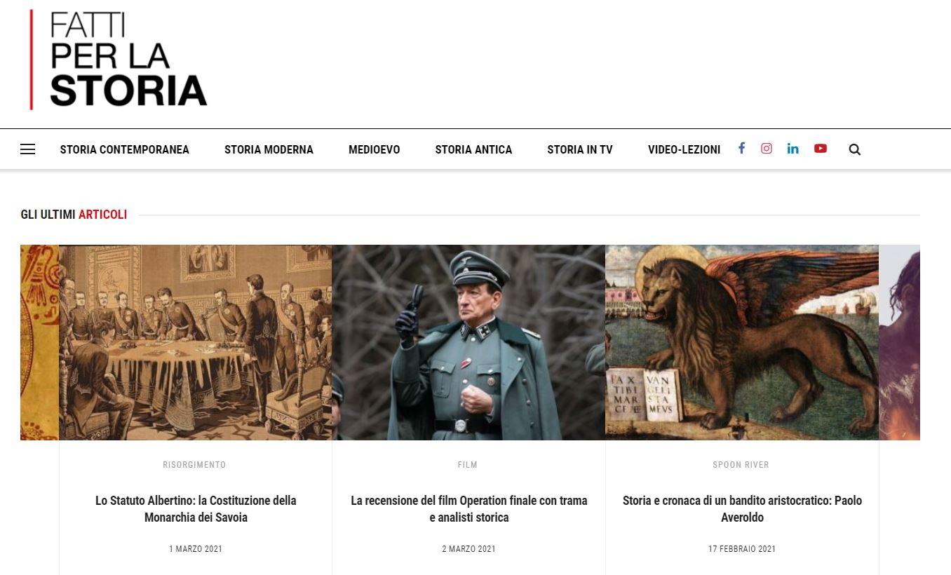 Intervista a Luca Bastianelli da SEO a SEO Fatti per la Storia