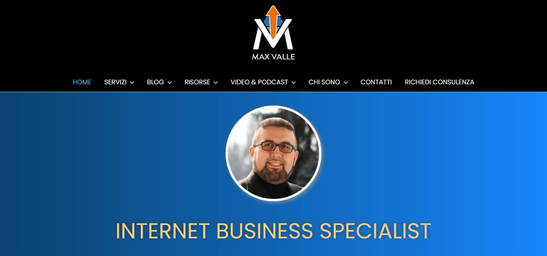 Max Valle internet business specialist Da SEO a SEO This Marketers Life