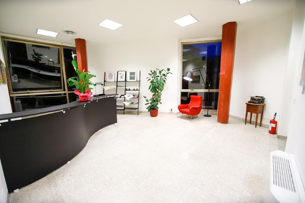 L'Adriano Olivetti Leadership Institute sorge nell'ex Centro Servizi Sociali Olivetti