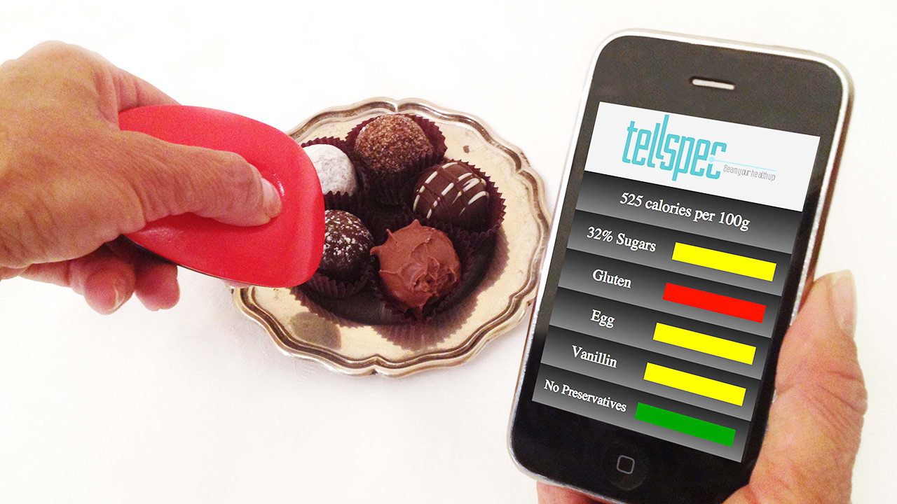 digital transformation food&beverage food scanner
