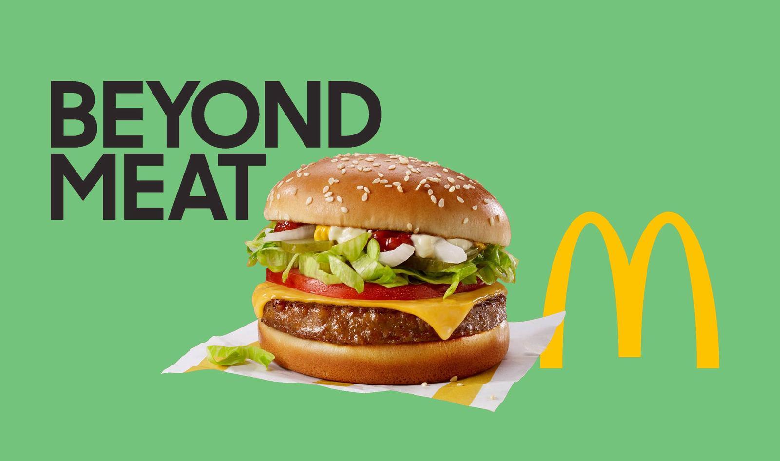 McPlant, il primo hamburger a base di carne vegetale targato Mc Donald's e Beyond Meat