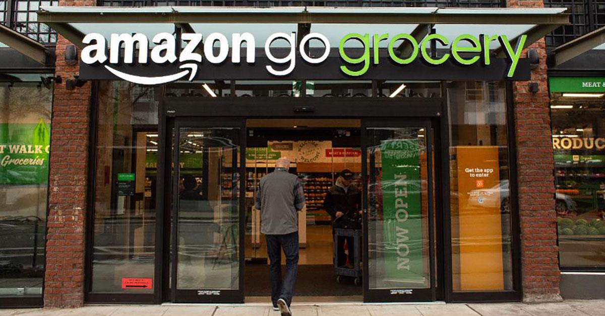 digital trasnformation food&beverage amazon go grovery