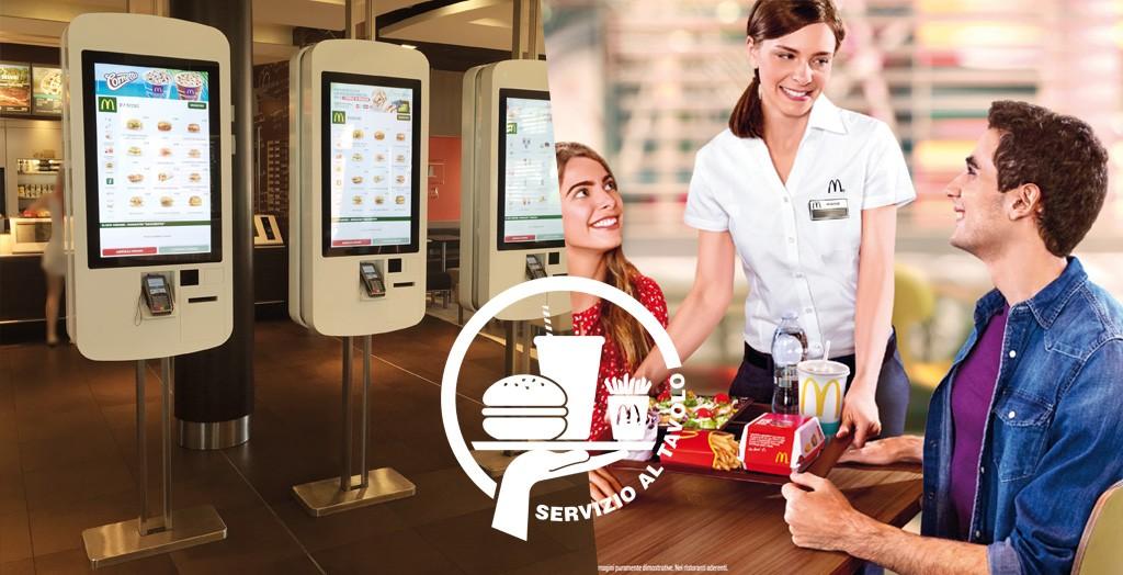McDonald's sta puntando sempre più a valorizzare la customer experience