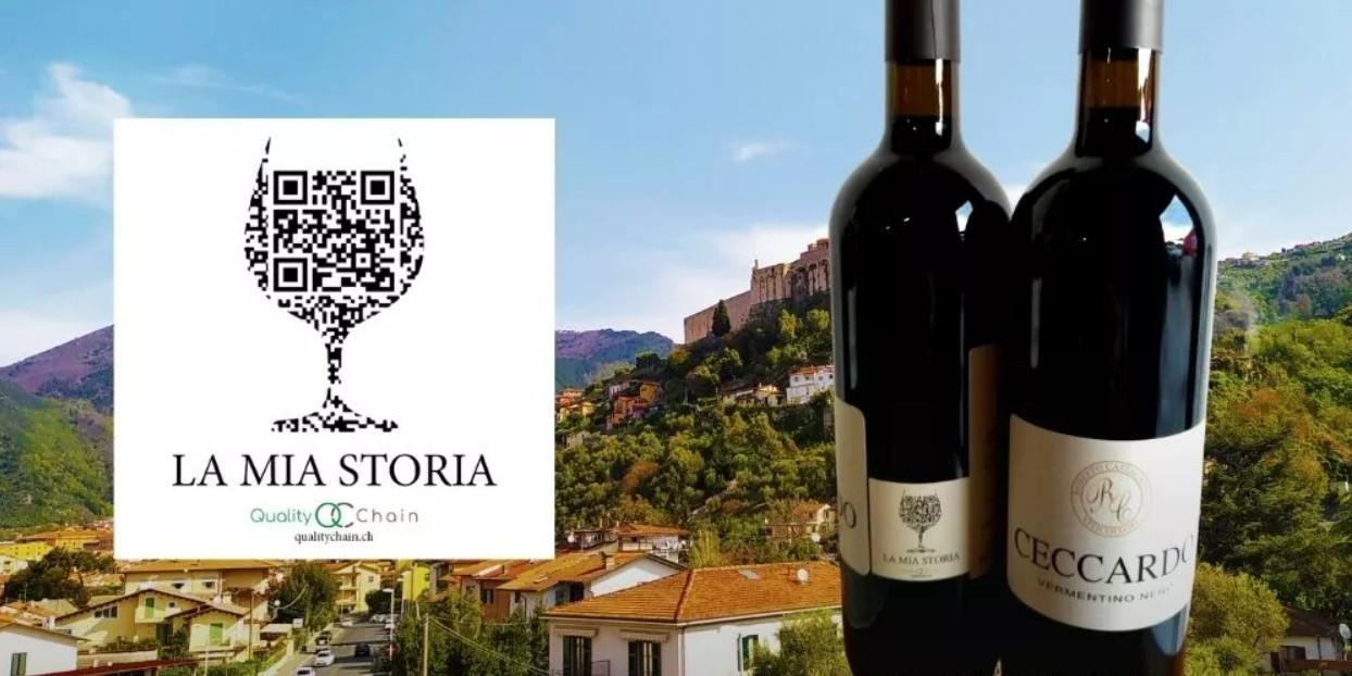 Etichette di vino con QR Code di QualityChain